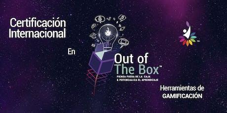 Certificación Out Of The Box | Herramientas de Gamificación entradas