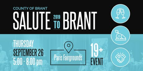 County of Brant - Salute to Brant 2019 tickets