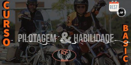 Curso de Pilotagem RF Bikers - Basic ingressos