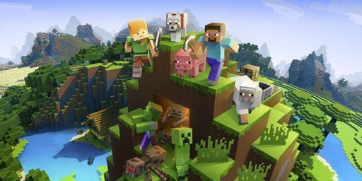 Minecraft Worlds LEGO Workshop - Mill Play Cafe Halifax