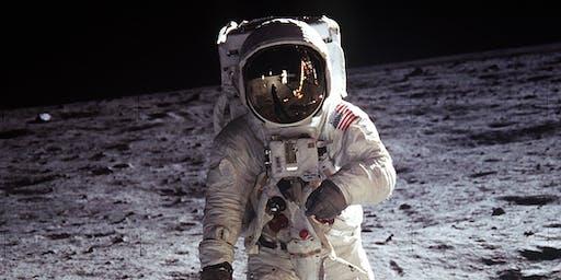 50 jaar sinds de eerste mens op de maan - kindershow