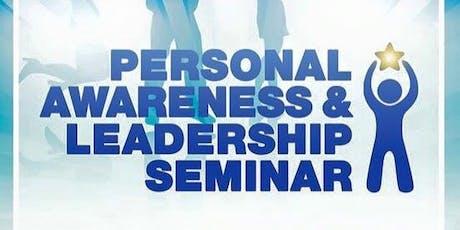 Personal Awareness & Leadership seminar PALs tickets
