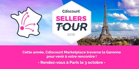 Cdiscount Sellers Tour - Paris tickets