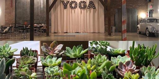 Yoga Wine & Flower Time