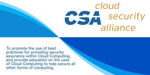 Cloud Security Alliance July MeetUp