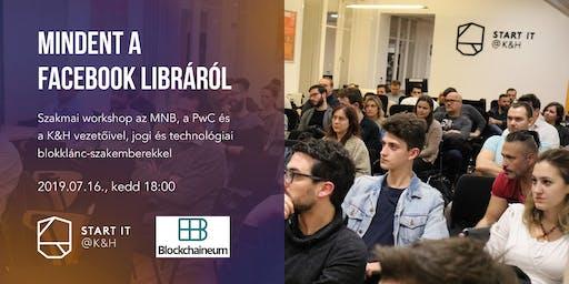 Mindent a Facebook Libráról - szakmai workshop