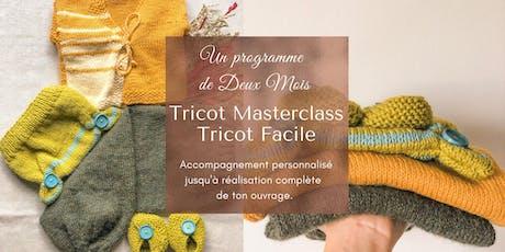 Tricot Masterclass - Tricot Facile billets