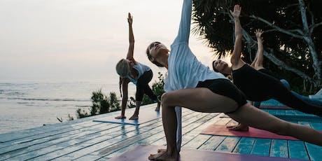 lululemon Canary Wharf - Sand Salutations Yoga Series -  week 2 tickets