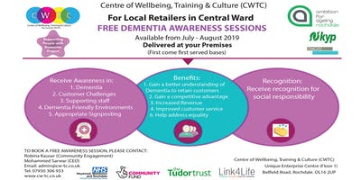 Free Dementia Awareness Sessions for Retailers
