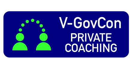 V-GovCon Private Coaching and 8(a) Private Coaching tickets