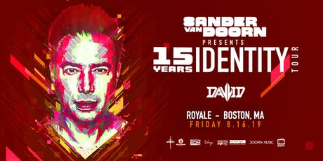 Sander Van Doorn | 8.16.19 | 10:00 PM | 21+ tickets