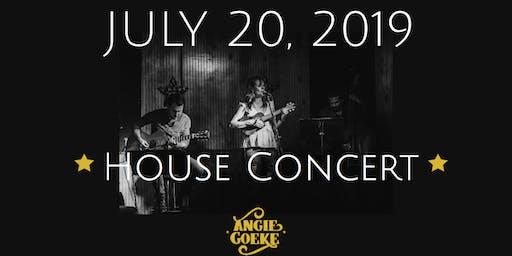 Davis' House Concert w/ Angie Goeke