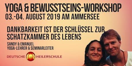 Yoga & Bewusstseins-Workshop – Yoga des Bewusstseins Ammersee Tickets