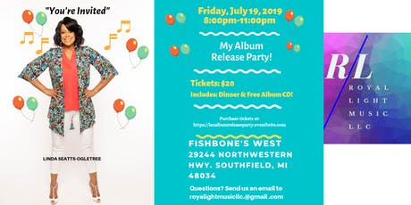 LIINDA SEATTS-OGLETREE ALBUM RELEASE PARTY tickets