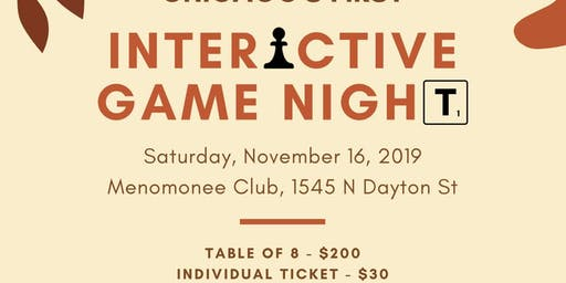 Chicago's First Interactive Game Night