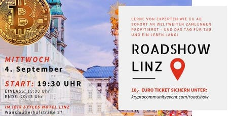 Roadshow Linz Tickets