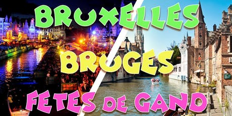 Weekend Bruges & Bruxelles - 27/07 tickets