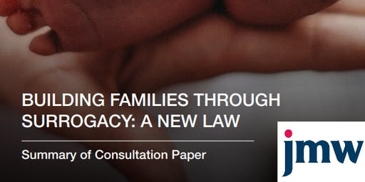 """Building families through surrogacy: a new law"" - a consultation event (Manchester)"