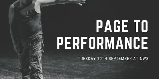 Page to Performance