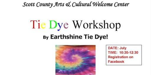 Earthshine Tie Dye Workshop