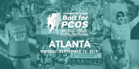 PCOS Walk 2019 - Atlanta Bolt For PCOS 5K Run/Walk (PCOS Challenge) tickets