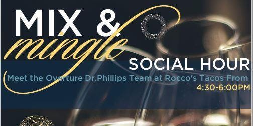 Mix & Mingle at Rocco's Tacos for Active Adult Seniors 55+