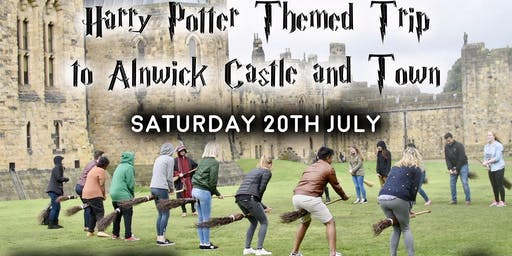 Harry Potter Trip to Alnwick Castle aka 'Hogwarts'
