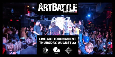 Art Battle Brooklyn - August 22, 2019 tickets