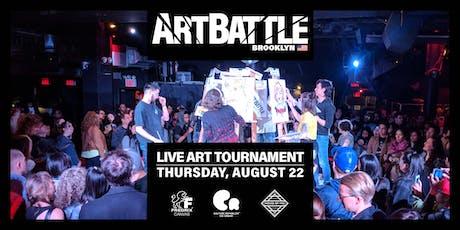 Art Battle Brooklyn - August 22, 2019 tickets