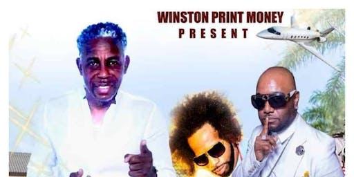 "Winston Print Money Presents "" White Out Affair Party"""