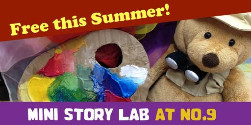 Mini Story Lab @No. 9! (Age 4-6 yrs)