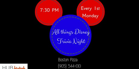 -ON HIATUS- All Things Disney Trivia Night tickets
