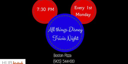 All Things Disney Trivia Night
