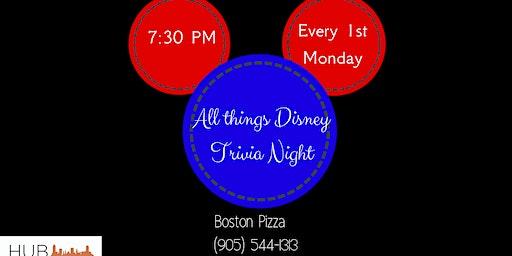 All Things Disney Trivia Night