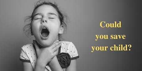 Bunbury Baby/ Toddler first-aid course tickets