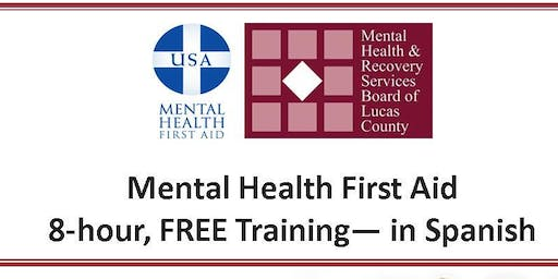 Mental Health First Aid - August 24 & 31, 2019
