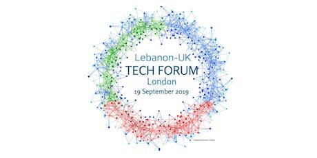 High-Level Lebanon-UK Tech Forum 2019 tickets