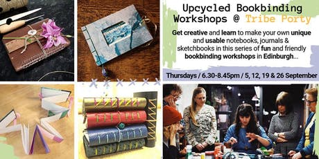 Upcycled Bookbinding @ Tribe Porty tickets