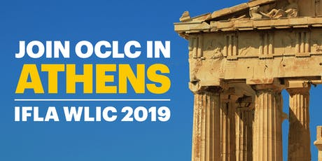 OCLC at IFLA WLIC 2019 tickets