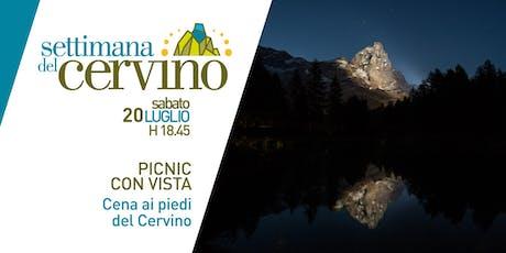 Settimana del Cervino - Pic Nic con vista billets