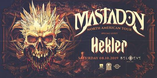 Mastadon with Hekler   IRIS ESP101 Learn to Believe   Saturday August 10