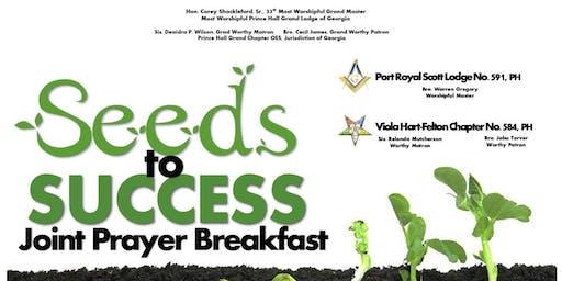 Seeds of Success Joint Prayer Breakfast (Port Royal Scott  #591 & Viola Hart-Felton #584
