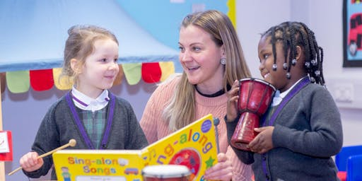 Nursery and Reception Open Morning:  Friday 13 March 2020