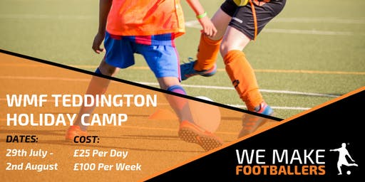 We Make Footballers Teddington July Camp