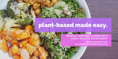 Plant-Based Cooking Made Easy