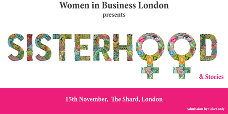 Women in Business London presents 'Sisterhood and Stories'  tickets