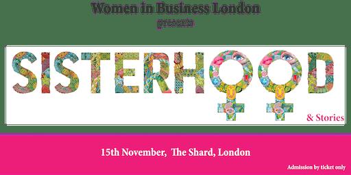 Women in Business London presents 'Sisterhood and Stories'