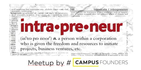 Intrapreneurship Meetup tickets