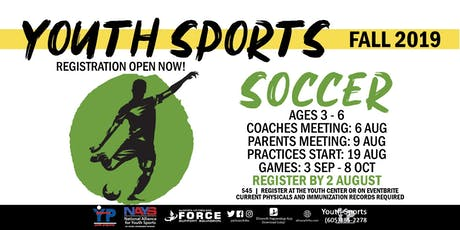 Fall Soccer - EAFB Youth Sports tickets