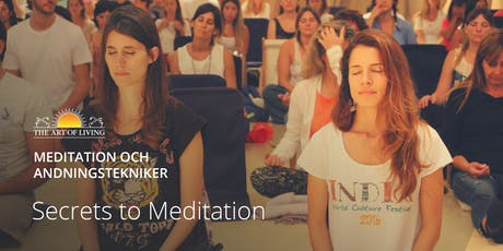 """Secrets to Meditation"" i Malmö tickets"